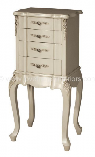 Rosemary Four Drawer Bedside